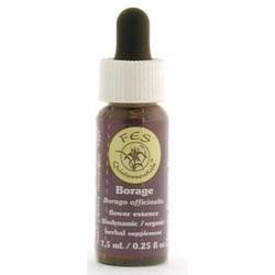 Flower Essence Services - Borage Flower Essence - 0.25 oz.