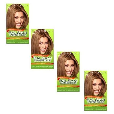 Clairol Balsam Lasting Color #70 Medium Ash Blonde (Pack of 4)