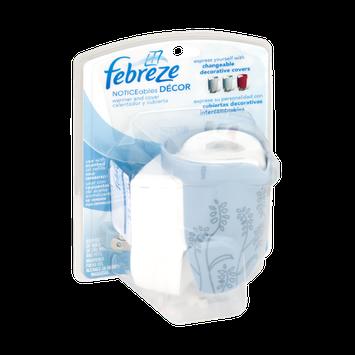 Febreze Noticeables Decor Warmer and Decorative Blue Cover