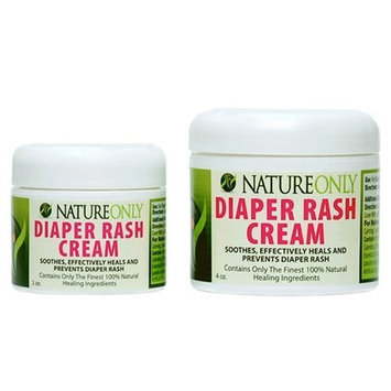 Nature Only 100% Natural Diaper Rash Cream 2 oz.