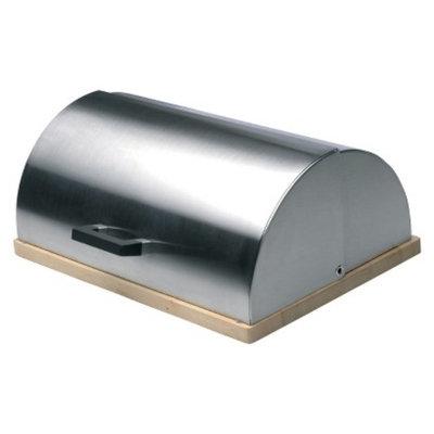 BergHOFF Cubo 18/10 Stainless Steel Bread Bin - Silver