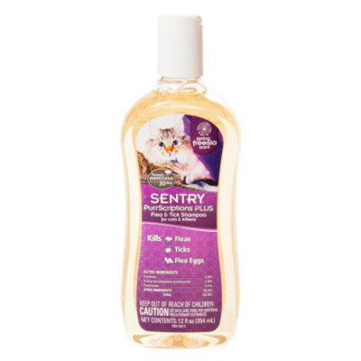 Sentry PurrScriptionsA Plus Flea & Tick Cat Shampoo