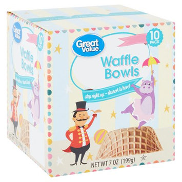 Great Value™ Waffle Bowls