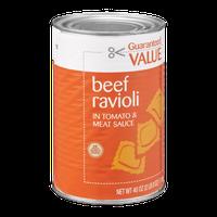 Guaranteed Value Ravioli Beef