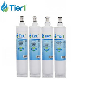 Tier1 Whirlpool 4396508 EDR5RXD1 4396510 Filter 5 Comparable Refrigerator Water Filter 4 Pack