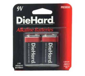 Eveready Battery Company DieHard 9V Alkaline Batteries, 2pk - EVEREADY BATTERY COMPANY