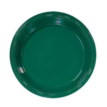 Hanna K Signature Hanna K. Signature 88070 7 in. Hunter Green Plastic Plate - 600 Per Case