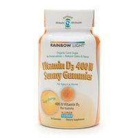Rainbow Light Vitamin D3 400IU Sunny Gummies