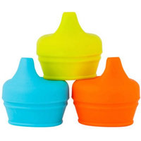 Boon Inc. Boon SNUG 3 Pack Spout Lids - Orange/Green/Blue