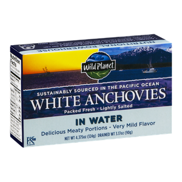 Wild Planet White Anchovies In Water