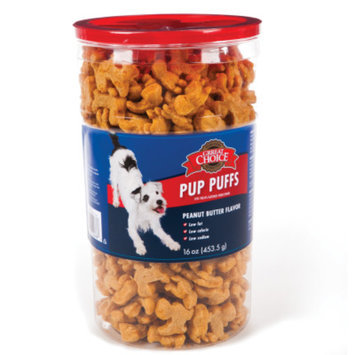 Grreat ChoiceA Pup Puffs Dog Treat
