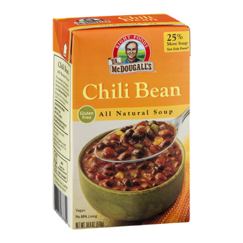 Dr. McDougall's Right Foods All Natural Soup Chili Bean
