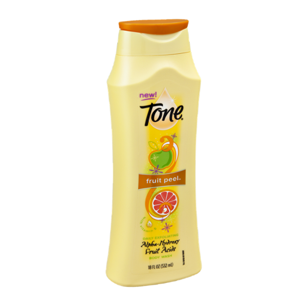 Tone Fruit Peel Daily Exfoliating Body Wash