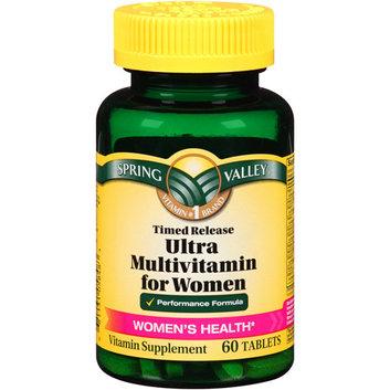 Spring Valley Ultra Multivitamin for Women Tablets