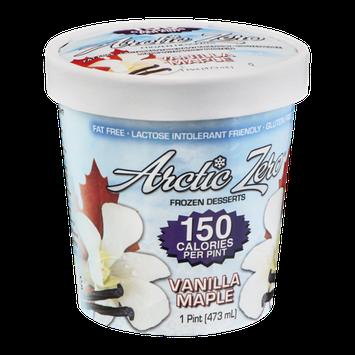 Arctic Zero Frozen Dessert Vanilla Maple