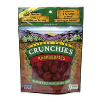 Crunchies Freeze Dried Snack Food Raspberries