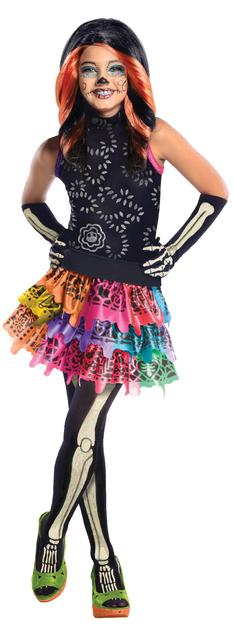 Rubies Costume Co Child Skelita Calaveras Monster High Costume