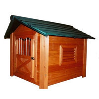 Merry Pet The Stable Wood Pet House, Large