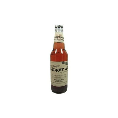 Fresh Ginger Pomegranate Hibiscus Ginger Ale By Bruce Cost 12 Oz Glass Bottles 24 Pack