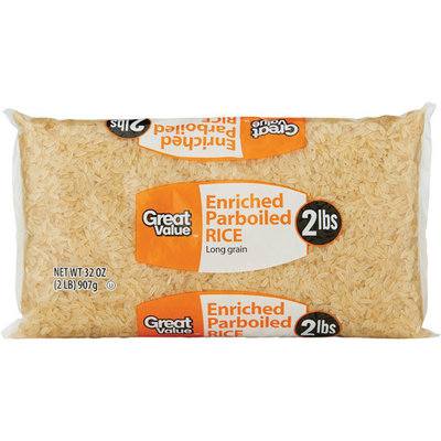 Great Value: Parboiled Rice, 32 Oz