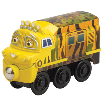 Learning Curve International, Inc. Chuggington Wooden Railway Mtambo Engine by Learning Curve