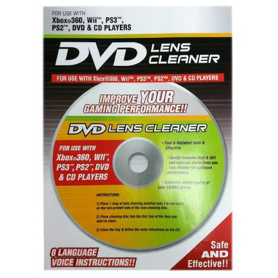 PLAYTECH WII, Xbox360, PS3, DVD Lens Cleaner