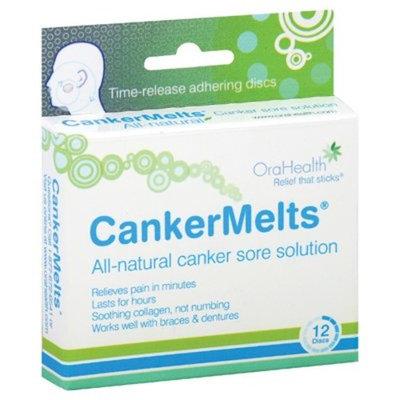 Orahealth CankerMelts Original Brown, 12 ct