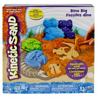 Spin Master Kinetic Sand Dino Dig Playset