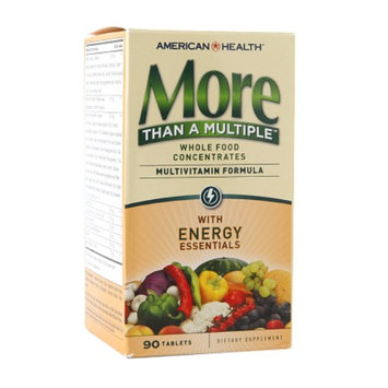 American Health More Than A Multiple Multivitamin Formula with Energy Essentials, Tablets, 90 ea
