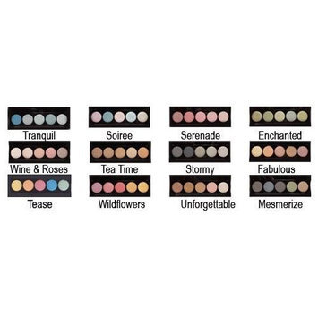 L.A. Colors - Metallic Eye Shadow - All 12 Palettes!!