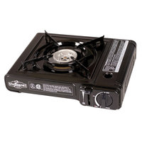 Stansport 186 Portable Outdoor Butane Stove, Red