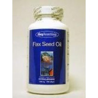 Allergy Research Group FLAX SEED OIL, SOFTGELS 100