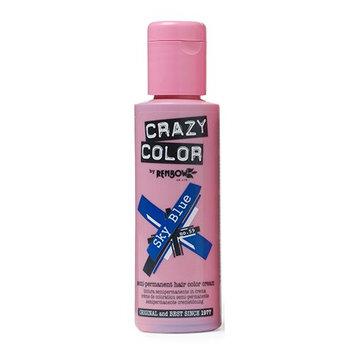Crazy Color Semi Permanent Hair Color Cream Sky Blue No.59 100ml