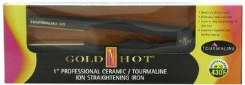 Gold 'N Hot Professional Ceramic Tourmaline Ion Straightening Iron