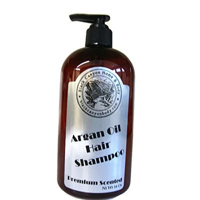 Black Canyon Argan Oil Hair Shampoo 16 Oz (Caramel Pumpkin)