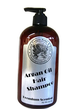 Black Canyon Argan Oil Hair Shampoo 16 Oz (Chocolate Mint)
