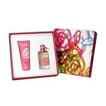 Woman In Rose for Women 2 Piece Gift Set (Eau De Toilette Spray 1.7 Ounce