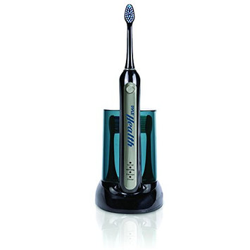 Pyle PHLTBS51BK Ultrasonic Wave Rechargeable Electric Toothbrush Automatic Charging Base Dock