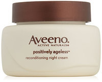 Aveeno Active Naturals Positively Ageless Night Cream with Natural Shiitake Complex