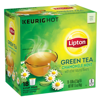 Lipton K-Cup Soothe Green Tea Bags
