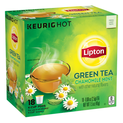 Lipton® K-Cup Soothe Green Tea Bags