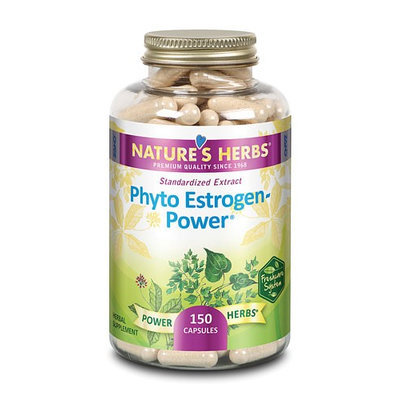 Nature's Herbs Phyto Estrogen Power 150 Capsules
