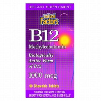 Natural Factors Methylcobalamin B12