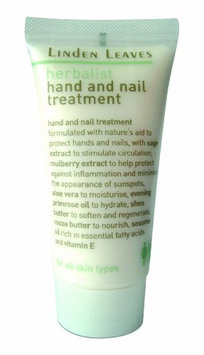 Linden Leaves Herbalist Hand and Nail Treatment Travel Kit