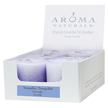 Aroma Naturals Votive Candles with Lavender