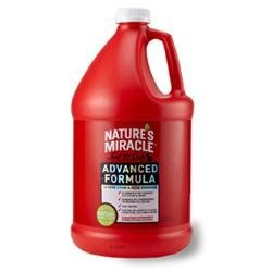 tures Miracle Nature's Miracle Advanced Just for Cats Stain and Odor Remover - 1 Gallon