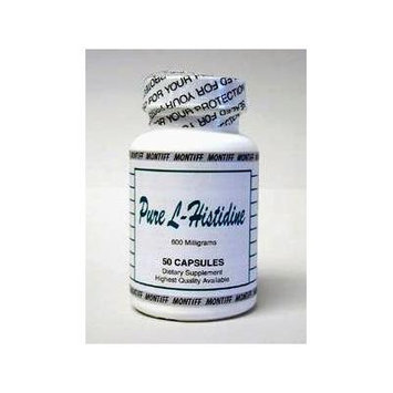 Montiff - Pure L-Histidine 600 mg 50 caps