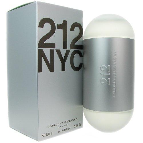 212 NYC by Caroline Herrera For Women. Eau De Toilette Spray 3.4-Ounce Bottle