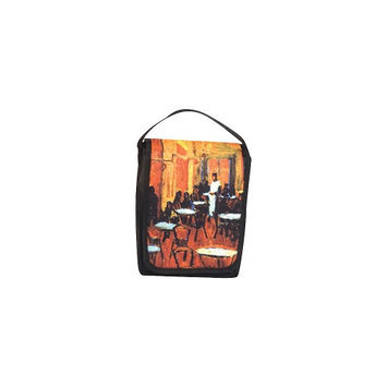 Picnic Plus 8x4x10-in. Gallery Lunch Bag, Night Cafe