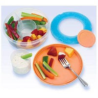 MEDport Fit and Fresh Fruit and Veggie Bowl - 1 Bowl